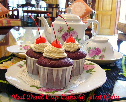 Red Devil Cup Cake
