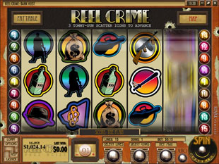 Reel Crime 1 Bank Heist slot game online review