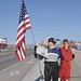 Sarah Palin And The Flagman