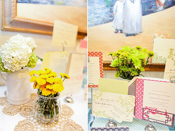 Photos of Smock's Display at The Wedding Party