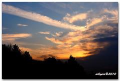 Sunset 24.02.2010
