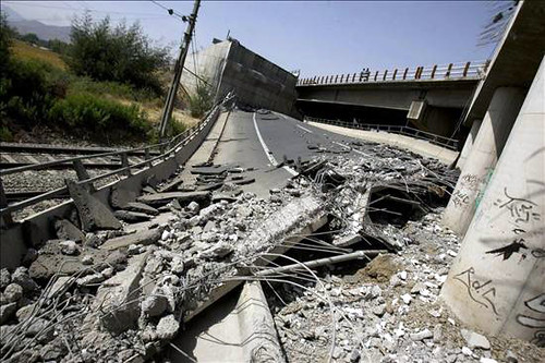 Earthquake in Chile 2010 croad