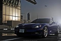 (Talal Al-Mtn) Tags: 2005 blue red cars car america canon automobile shot automotive rover rims talal 2007 q8 ls3 corvettec6 450d canon450d lm10 inkuwait corvettec6zo6 almtn talalalmtn  bytalalalmtn