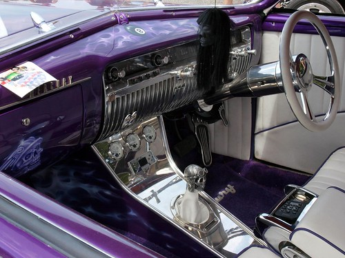 1949 Mercury Interior