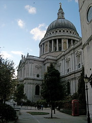 (SaraNicoleDesigns) Tags: uk travel family blue england sky london history church st architecture catholic cathedral united faith religion kingdom international dome spirituality peters