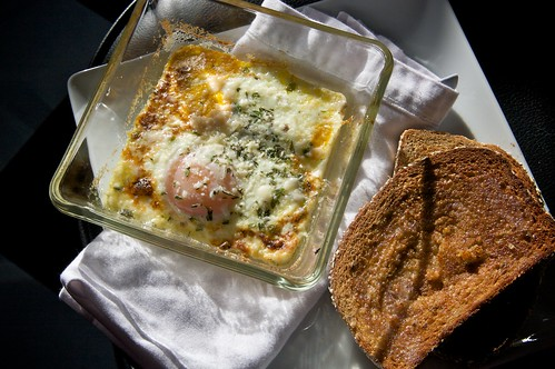 served with toast