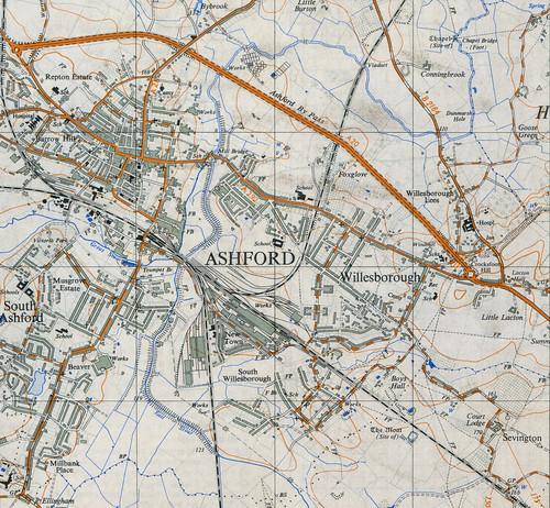 1958 杭州地图