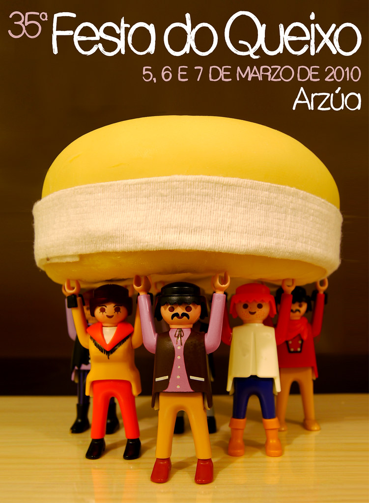 Festa do Queixo de Arzúa 2010 - 35ª edición - cartel