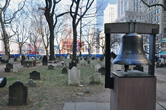 The Bell of Hope. (elsa11) Tags: cemetry ny newyork bell manhattan 911 bigapple groundzero stpaulschapel