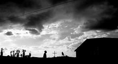 As the storm passes and Rwanda looks a bit... goth (kigaliwire) Tags: africa blackandwhite bw storm church silhouette clouds cross rwanda crucifix stormclouds stormyweather rwamagana rubona bizcardtake2 pjkw10