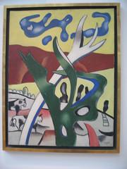 Larbre vert, Fernand Leger, 1937, hst (gaelle_kermen) Tags: kandinsky picasso andywarhol gemeentemuseum pietmondrian gaellekermen