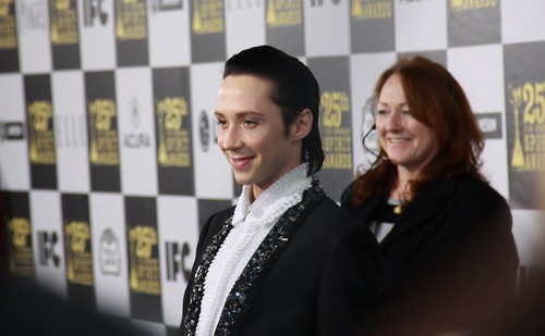 Olympic figure skater Johnny Weir