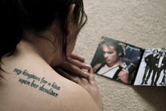 it's never over (sevenworlds16) Tags: jeff tattoo grace sp beckie buckley lyric verymuch toooldtojustbreakfreeandrun yesyouarestillmissed tooyoungtoholdon