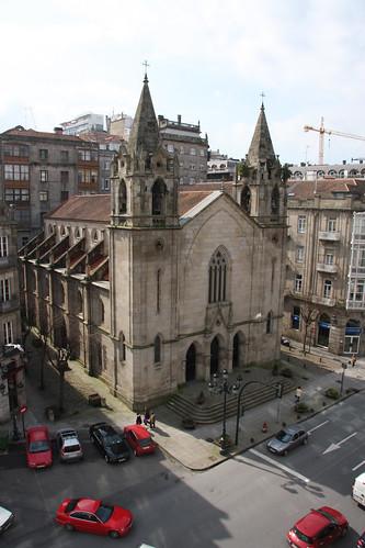 Church across the street