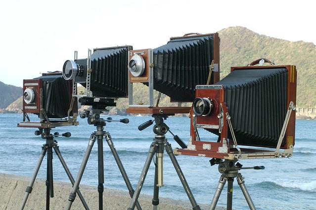 My largeformat cameras   8×10 11×14 14×17