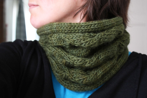 Morning Glory cowl