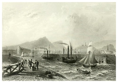 007-Leith-The ports, harbours, watering-places, and picturesque scenery of Great Britain 1840