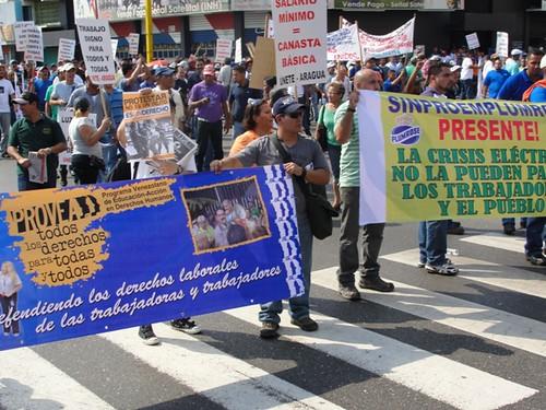 12 de marzo, concentración obrera