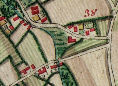 Mijn erf in de Atlas Ferraris van 1777