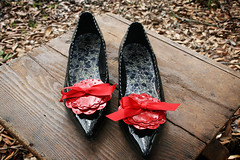 Red Shoe Clips