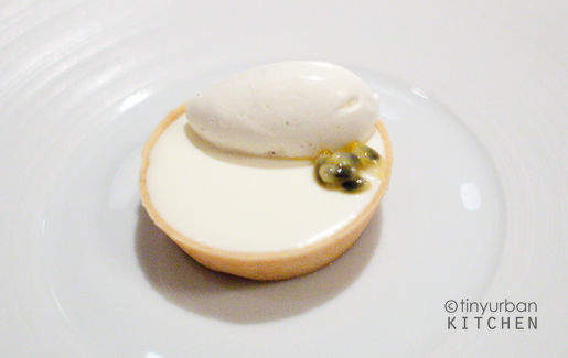 French Laundry Vanilla passion tart