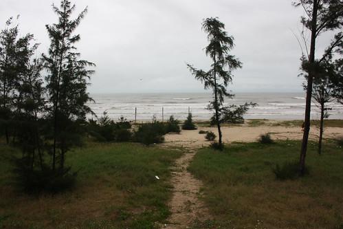 The beach near An Cu