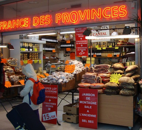 gare du nord food shop
