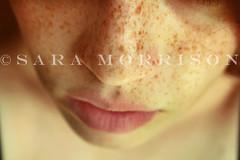 Freckles (Sara_Morrison) Tags: face closeup nose lips freckles viso naso faccia labbra lentiggini