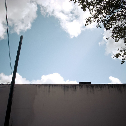 Industrial Wall and Sky, Miami
