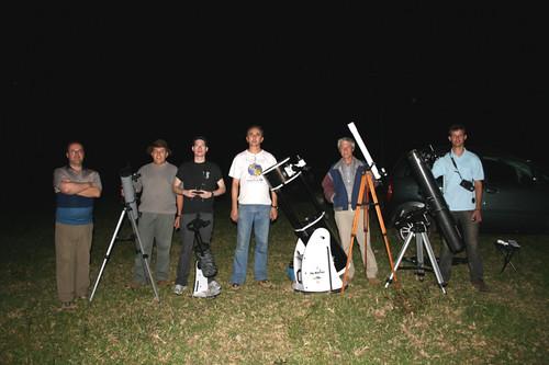 SPCA e telescópios by SPCA - Astronomia em Ponta Grossa, Paraná.