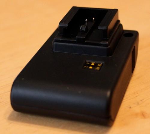 Yongnuo CTR-301P radio flash trigger: Sony/Minolta Transmitter Detail
