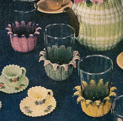 Pansie Teapot Cozy Crochet Pattern | FaveCrafts.com