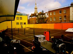 Virginia Primary School / Let's Colour Project London (Let's Colour) Tags: uk school england orange color colour london feet playground yellow painting children virginia shoes paint play lets painted pot painter colourful primary painters dulux akzonobel paintpot eurorscg virginiaprimaryschool valentine euro letscolor letscolour dulux rscg