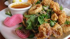 Crispy Calamari Somen Salad at Pineapple Room