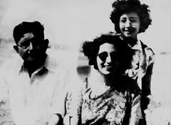 Bapsi Sidhwa with her parents Peshotan and Tehmina Bhandara in 1951 (Doc Kazi) Tags: pakistan parsi minoo bapsisidhwa bapsi goshi kandawalla minoobhandara