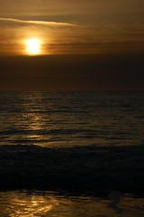 Fading (Willlllake) Tags: ocean bridge blue moon green grass golden moss gate san francisco long exposure bokeh filter nd mussels clams 55200