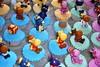 backyardigans - cupcakes (Ana_Fuji) Tags: cupcakes edible fondant backyardigans