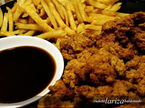 Popcorn chicken & Frites