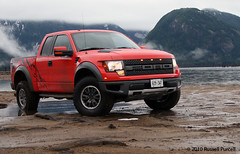 2010 Ford Raptor SVT (Auto Exposure Canada) Tags: red ford truck mud offroad 4x4 dirt raptor svt fordraptor ©2010russellpurcell