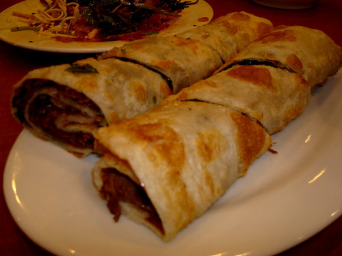 101 Noodle Express' beef roll