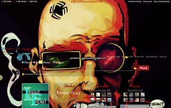 Spider Jerusalem Layout (LayoutFREAK!) Tags: red black dark layout spider comic spiderjerusalem plurk plurktheme boyslayout layoutfreak