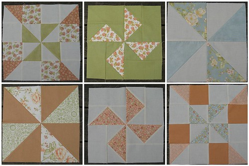Dandelion Girl Quilt | 1st Six Blocks