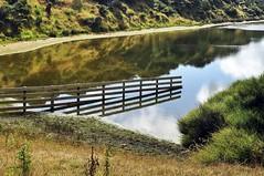 Ended Fence (mooshrimp) Tags: newzealand nikon hiking nz dlsr d5000