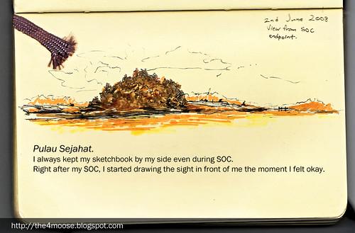 Pulau Sejahat Sketch