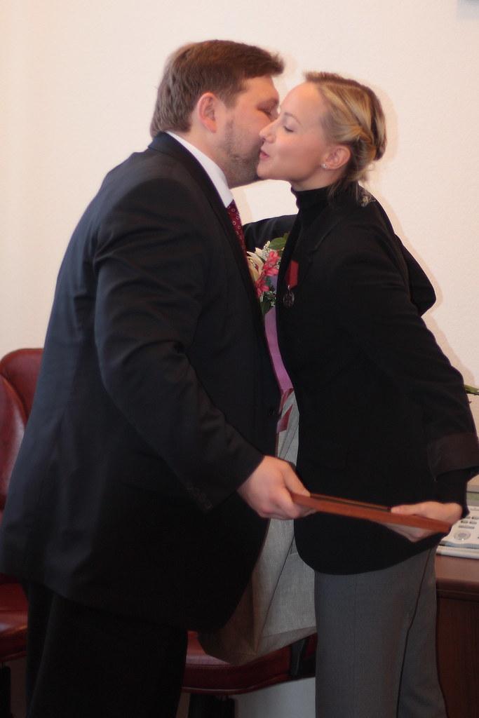 Оксана Домнина и Никита Белых