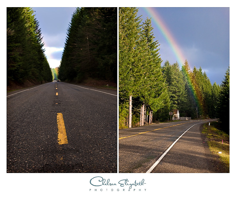 Oregon end of the rainbow