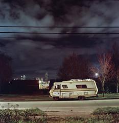 (mraaronmorris) Tags: seattle film night washington kodak web hasselblad portra motorhome 500cm