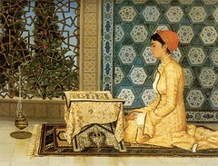Muslim Woman (cool-art) Tags: woman turkey reading muslim islam religion ottoman turkish quran the