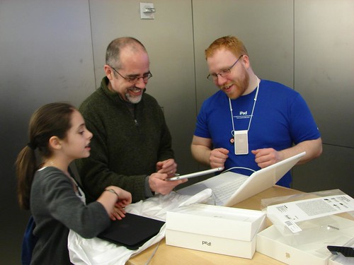 iPad First Impressions with Bob Sprankle by Wesley Fryer, on Flickr