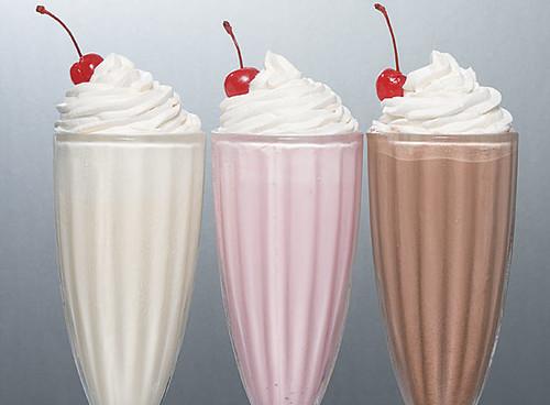 receita milk shake caseiro